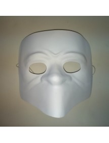 Máscara Bauta Branca