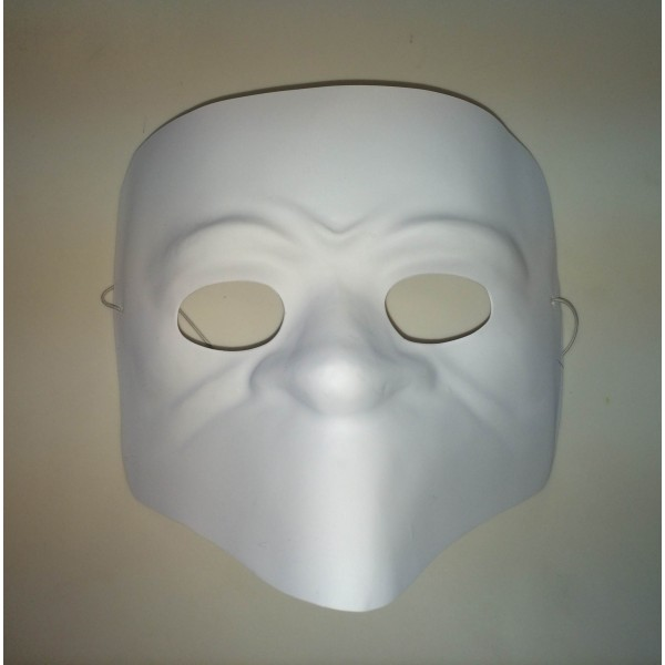 Bauta MrParty Máscara MrParty Bauta Branca Máscara Bauta Máscara Branca n0wOkP8