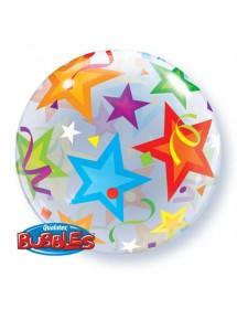 Balão Bubbles Estrelas 56cm