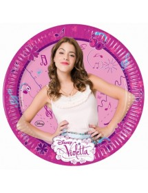 Pratos Violetta (pack 8)