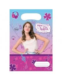 Sacos Violetta (6 unidades)