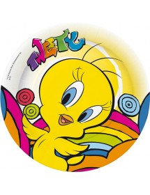 Pratos Tweety (pack 8)