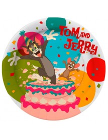 Pratos Tom & Jerry (pack 10)
