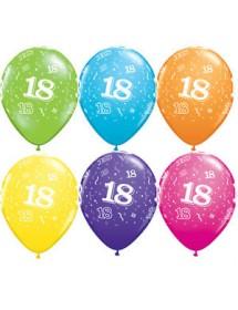 Balões Nº 18 (pack 6) 28cm