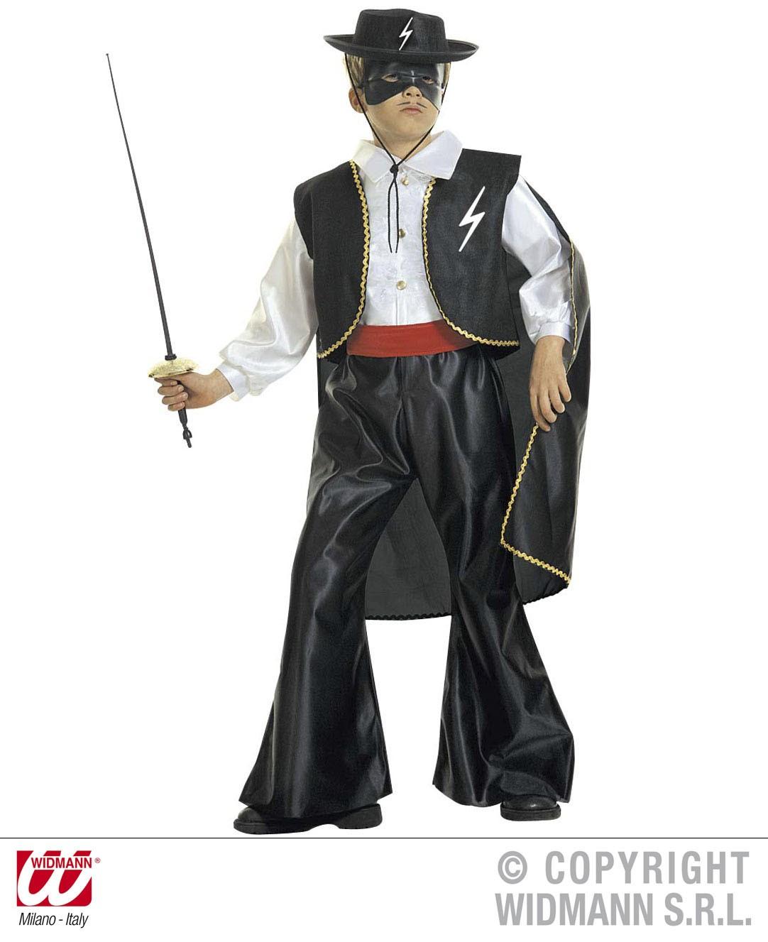 20ee65fbf4a9e Fato Zorro Criança - Mr. Party