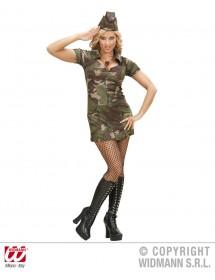 Fato Mulher Soldado