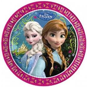 Pratos Frozen (8 unidades)
