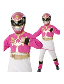 Fato Power Rangers Pink
