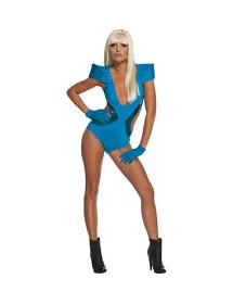 Fato Lady Gaga Blue