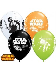 Balões Star Wars 30cm (pack 6)