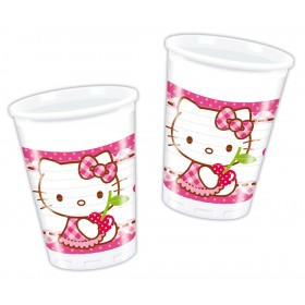 Copos Hello Kitty (pack 8)