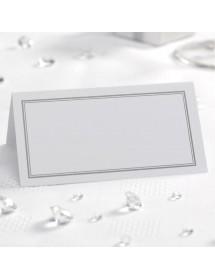50 Cartões de Mesa - Silver