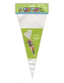 Sacos Grandes Celofane Cone (pack 25)