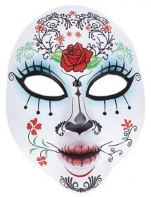 Máscara Dia dos Mortos (Tecido)