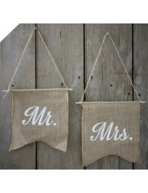 Bandeiras MR MRS (25cm)