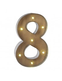 Número 7 Luminoso (40 cm)