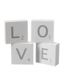 Blocos Letras LOVE (22.5cm)