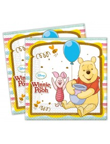 Guardanapos Winnie the Pooh (pack 20)
