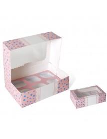 Caixa p/ Cupcakes (pack 2)