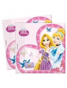 Guardanapos Princesas (pack 20)