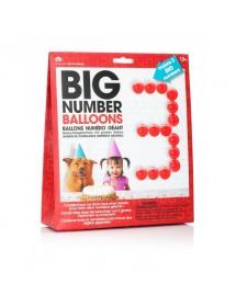 Números Gigantes de Balões