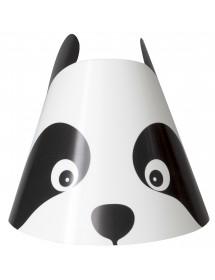 Chapéus Panda (pack 8)