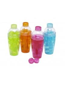 Shaker Colorido c/ Cubos Gelo