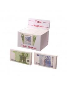 Guardanapos Notas 100€ (10 unidades)