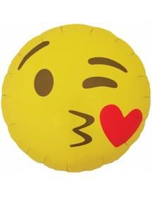 Balão Foil Emoji Poop 45cm