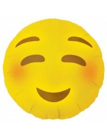 Balão Foil Emoji Heart Eyes 45cm