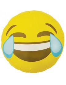 Balão Foil Emoji Winking 45cm
