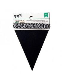 Grinalda Bandeiras Ardósia Triangular