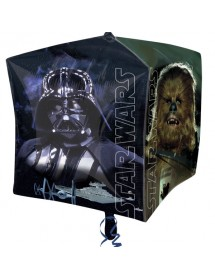 Balão Foil Cubo Star Wars 60cm