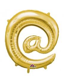 Balão Foil @ 41cm Prateado