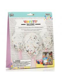 Balões com Confetis (pack 20)