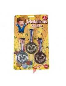 Medalhas (pack 3)