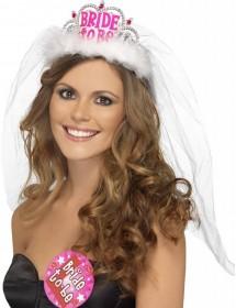 Tiara Bride to Be com Véu