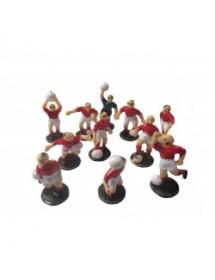Kit Equipa Futebol para Bolos