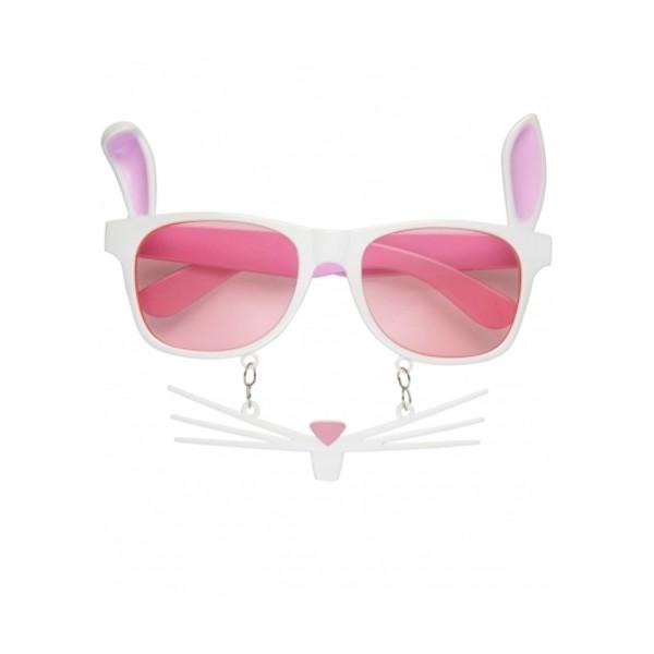 Óculos Coelhinha c  Bigodes - Mr. Party 4886e94719