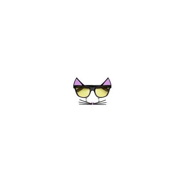 Óculos Gata c  Bigodes - Mr. Party cf03d08882