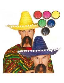 Chapéu Mexicano Roxo