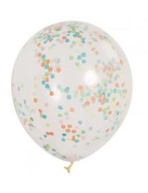 Balões com Confetis (Pack 6)