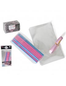 Sticks para Doces C/ Fita decorativa Pack 20