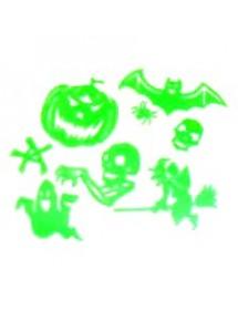 Stickers Halloween Glow in the Dark ( Pack 12 )