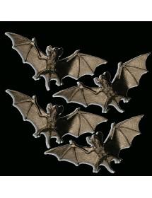 Morcegos 10cm (Pack 4)