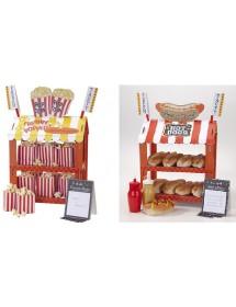 Hotdog or Popcorn Stand