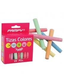 Giz Colorido (pack 24)