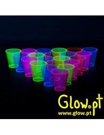 Copo Shot Fluorescente (pack 60) 60ml