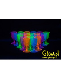 Copo Vinho Fluorescente (pack 20)
