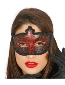Máscara Veneza Vermelho